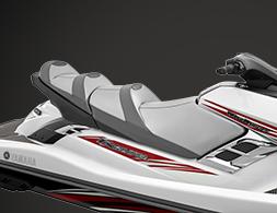 Best 3 seater jet ski FX_Cruiser_SHO_White_Seat