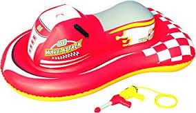 Red Inflatable jet ski