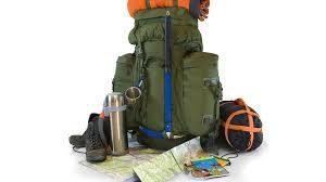 Camping supplies bundle