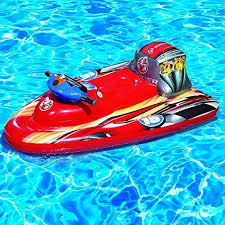 Bonzai inflatable jet ski with motor