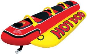 hotdog towable tubes