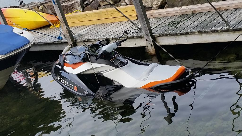 common used jet skis damages