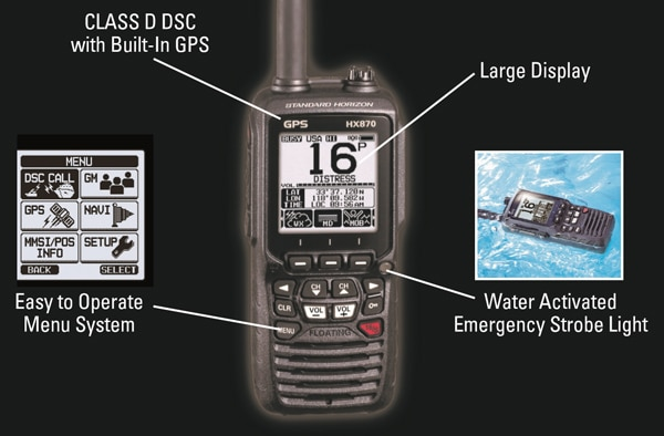 Marine-GPS-radio
