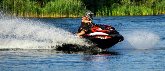 jet-skiing-with-a-helmet-on