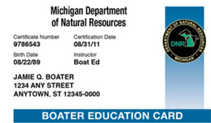 Jet Ski License Michigan