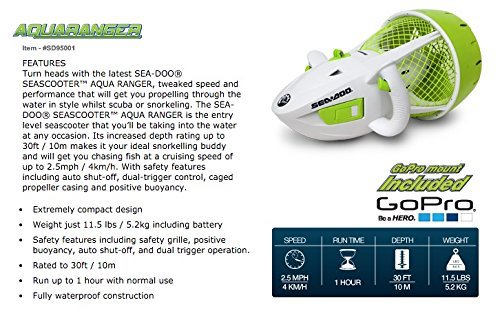 Sea Doo Aqua Ranger Sea Scooter 1