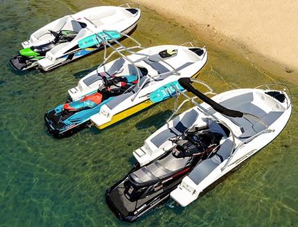 jet ski to boat converters