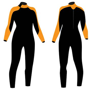 two jet ski wetsuits