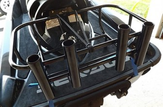 jet ski fishing cooler rack